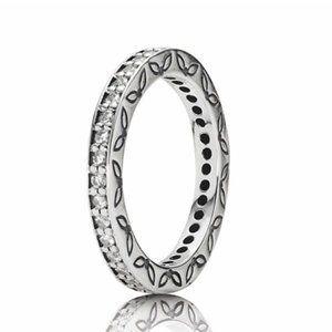 Pandora Silver Eternity Ring 5